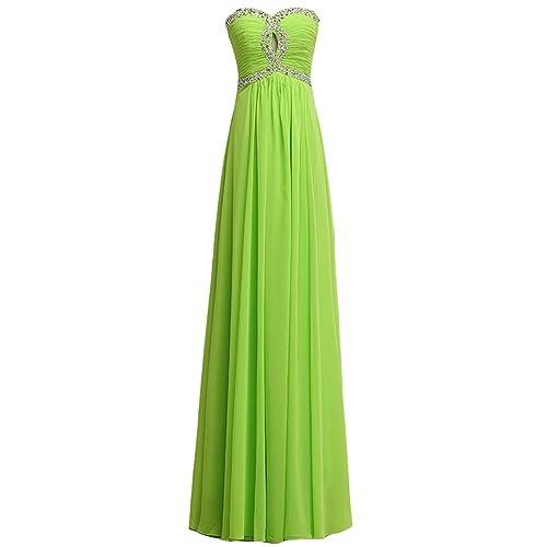 FAIRY COUPLE Gorgeous Chiffon Strapless Rhinestone Formal Party Dress D0119