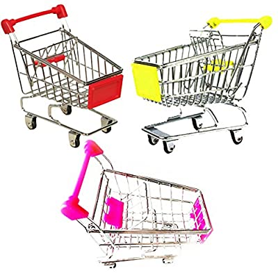 Parrot Bird Supermarket Shopping Cart Kids Intelligence Growth Box Funny Toy