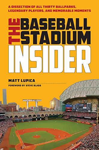 The Baseball Stadium Insider: A Dissection of All Thirty Ballparks, Legendary Players,and Memorable