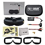 Fat Shark fatshark Attitude V3 FPV Video Goggles Headset Modular RF Goggle w/ 3D Support
