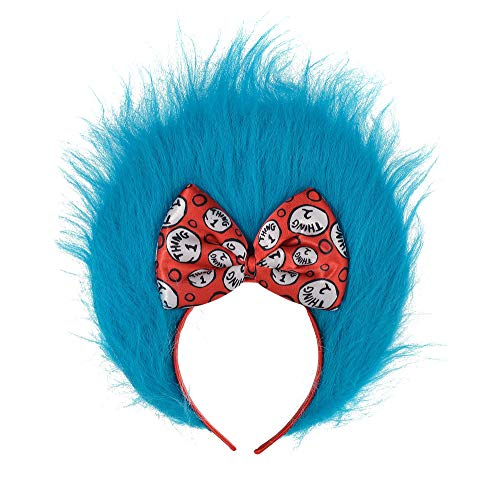 Costumes USA Dr. Seuss Thing 1 and Thing 2 Hair Headband for Kids, Halloween Costume Accessories, One Size -