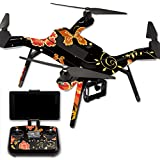 MightySkins Protective Vinyl Skin Decal for 3DR Solo Drone Quadcopter wrap cover sticker skins Flower Dream