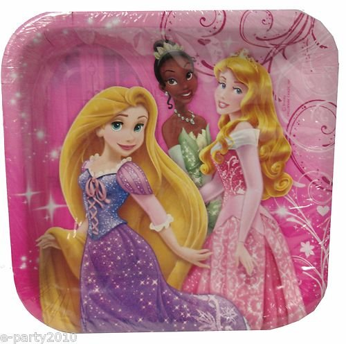 Sparkle Princess Dessert Plates