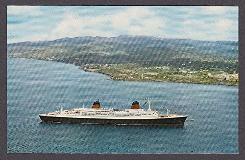 Martinique Fort-de-France SS France ocean liner 1950s