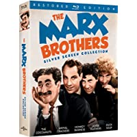 Deals on The Marx Brothers Silver Screen Collection Restored Edition Blu-ray