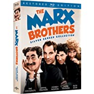 The Marx Brothers Silver Screen Collection The Cocoanuts / Animal Crackers / Monkey Business / Horse Feathers / Duck Soup