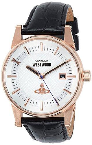 Vivienne Westwood watch Finsbury off-white dial blue leather Quartz VV065SWHBK Men's parallel import goods]