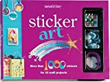Sticker Art [With Stickers and Rhinestones, Googly Eyes, Nail Decals, Etc.] (American Girl Library)