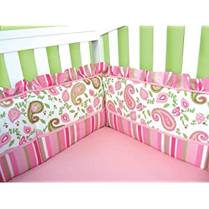 Trend Lab Crib Bumpers, Paisley Park
