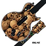 Mightyskins Protective Skin Decal Cover Sticker for GUITAR HERO 3 III PS3 Xbox 360 Les Paul - Skull Pile