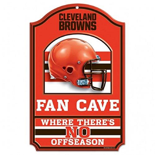 Room Browns Nfl Locker (NFL Cleveland Browns Fan Cave Wood Sign, 11