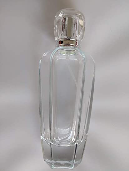 6acec29d20d5 Amazon.com: 7 Degrees North 100ml (3.4oz) Large Clear Glass Empty ...