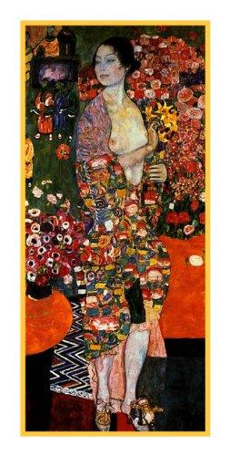 Orenco Originals The Dancer by Gustav Klimt Counted Cross Stitch Pattern