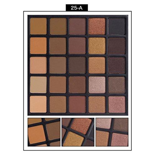 HP95 Professional 25 Color Matte Eyeshadow Cream Eye Shadow