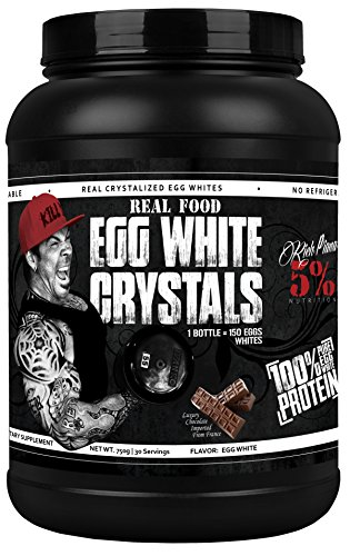 Rich Piana 5% Nutrition Real Food Egg White Crystals (Chocolate Flavor)