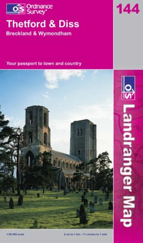 Download Thetford and Diss, Breckland and Wymondham (Landranger Maps) PDF