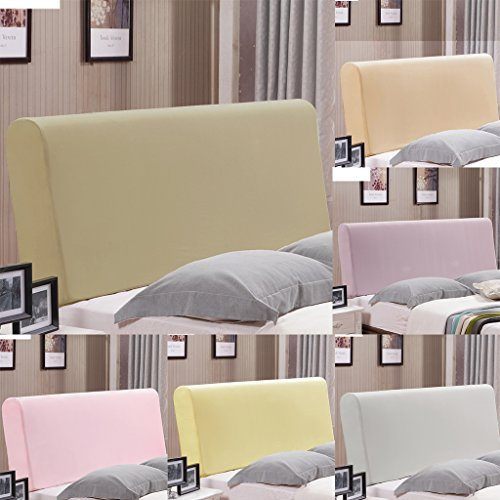 Fityle Stretch Wooden Leather Bed Headboard Cover Protector Slipcover For 140-170cm - Champagne by Fityle (Image #4)