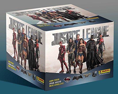 2017 Panini DC Comics 'Justice League' Sticker Collection box (50 pk) from Panini
