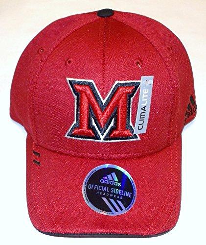 Miami University Red Hawks Flex Adidas  Hat - L/XL - M101Z