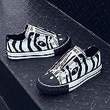 KaMiao Toddler Animal Printing Canvas Shoes Flat