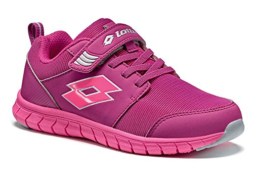 Lotto - Zapatillas de tenis para niño Violett (PURPLE JAM/GLOSS FLUO)