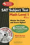 The SAT Subject Test - Math Level 1, Research & Education Association Editors, 0738602353