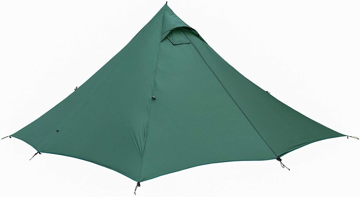 OneTigris Wild Haven Ultralight Backpacking Hot Tent for Double, Black Orca Series