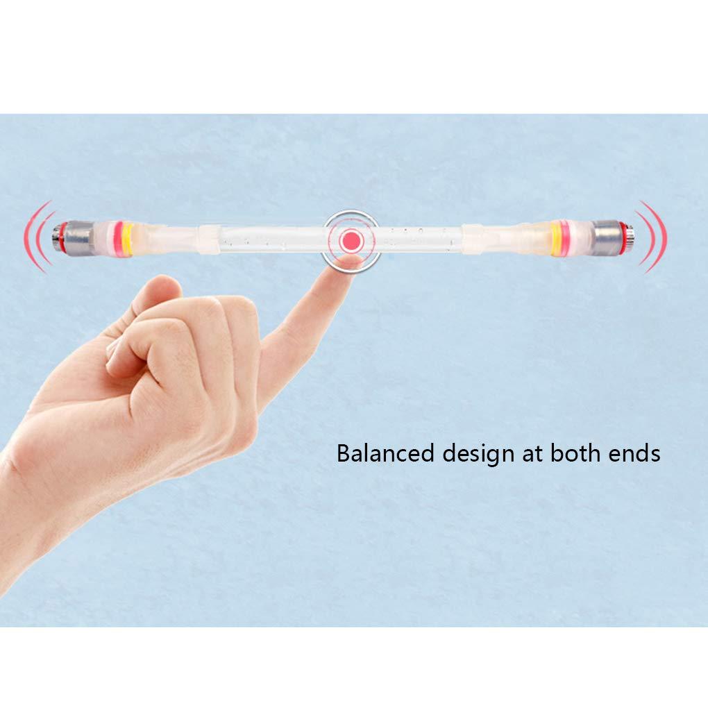 Topke Vacillant Spinning Pen Glare Roulant Rotating de Jeu Jouer Stylo /à Bille 22cm Papeterie /école