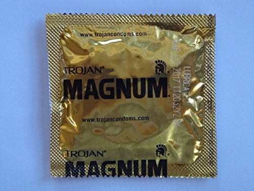 Trojan MAGNUM Condoms - Also available in quantities of 12, 25, 75 - (50 condoms)