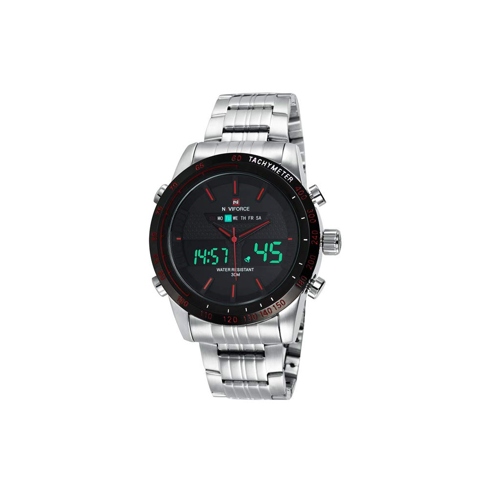 SPORS Men's Multi-Function Sports Watch, Outdoor Waterproof Watch, Dual Display Watch, Men's Classic Quartz Watch-2 by SPORS