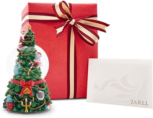 FU LIAN Caja de música Creativa con diseño de árbol de Navidad Grande, con Flash Colorido, Caja de música con Relojes, una Variedad de música, Movimiento Especial Jarll, cumpleaños para niñas: Amazon.es: