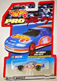 1997 - Mattel - Team Hot Wheels - Pro Racing Series - NASCAR - Kyle Petty / Pontiac Grand Prix - Rare Petty Card - 1:64 Scale Die Cast - MOC - Out of Production - Limited Edition - Collectible