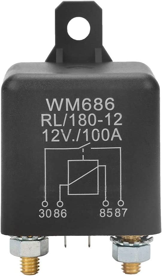 Wm686 100a Normales Offenes Hochleistungsautostarterelais For Autobatteriesteuerrelais Ein Aus Rl 180 Dc 12v Auto