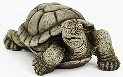 Superbe Fleur De Lis Garden Ornaments LLC Turtle Concrete Statue