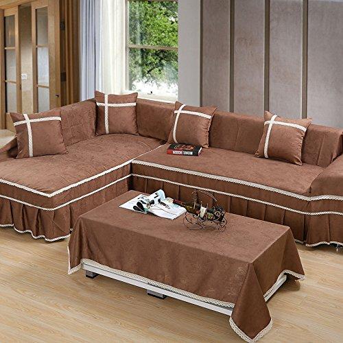 LY& HYL All-Season Tessile per la casa copertura completa copertura divano divano Mobili Protector Anti-skid , 2 , 170*260 LY&HYL Sofa Cover