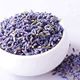 JF Organic Lavender Dried Flower Grain 1 Pound,Suit for Lavender Flower Pillow & Herbal Tea.