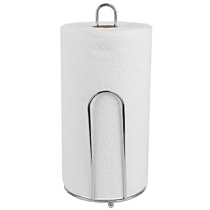 Amazon.com   Home Basics Chrome Collection Paper Towel Holder   Kitchen Roll  Holder