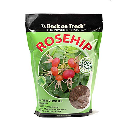 (Back on Track Non-GMO 100% Natural Rosehip Horse Immunity Supplement (1.5lbs))