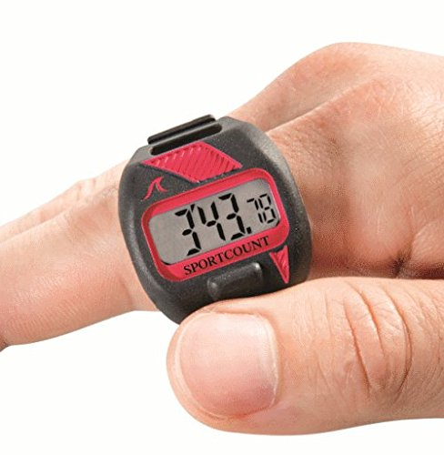 - SportCount Chrono 200 Lap Counter & Timer (90002 Red)
