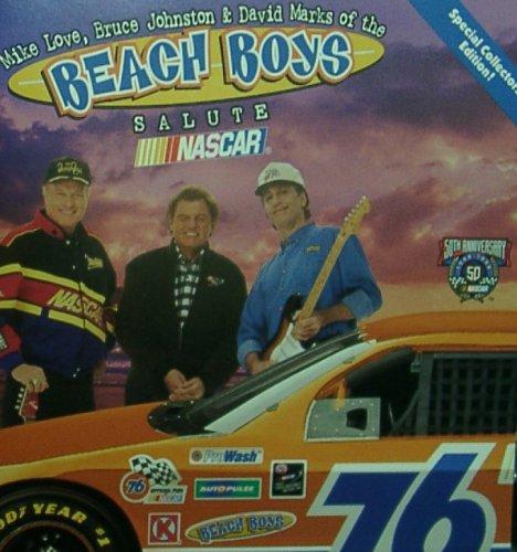 Mike Love, Bruce Johnston and David Marks of the Beach Boys Salute Nascar