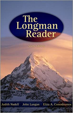 Amazon the longman reader 6th edition 9780321142634 judith amazon the longman reader 6th edition 9780321142634 judith a nadell john langan eliza a comodromos judith nadell books fandeluxe Choice Image