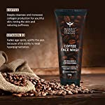 Bombay Shaving Company Coffee Face Wash for Men & Women – Deep-Cleanses, De-Tans & Blackhead Removal | Made in India