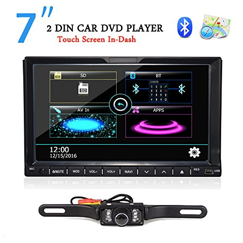 TOCADO 2 Car with Camera Touchscreen In Radio GPS and MP3,CD,DVD USB/SD Backup Camera & Map