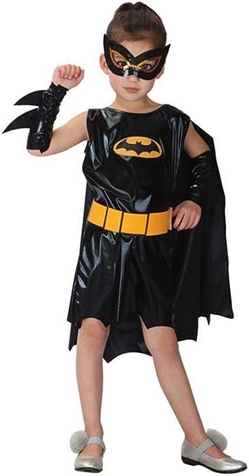 Negro Batman niña disfraces de Halloween sexy disfraz de animal ...