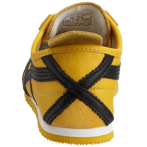 66 Trainers Men's Tiger Black Onitsuka Yellow Mexico q710xtnnw