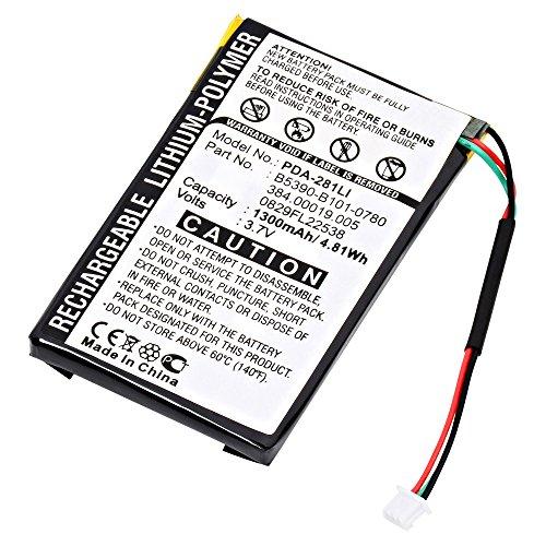 Polymer Gps Battery - GPS Dantona PDA-281LI Lithium, Lithium Polymer (Li-Po) Battery 3.7 Volts