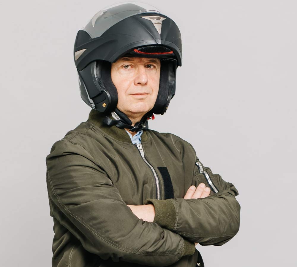 Westt/® Torque /· Flip Up Full Face Motorbike Helmet in Matte Black with Double Visor /· Crash Helmets Motorcycle Moped Scooter /· ECE Certified