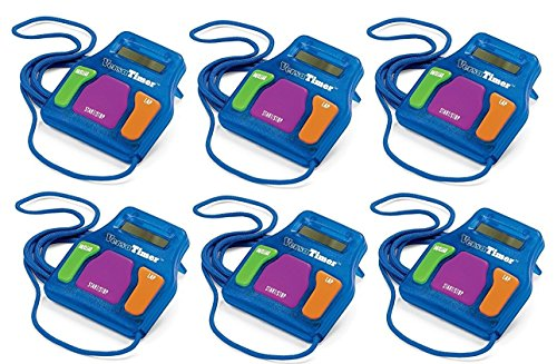 hand2mind Versa Timer Stopwatch (Pack of 6)