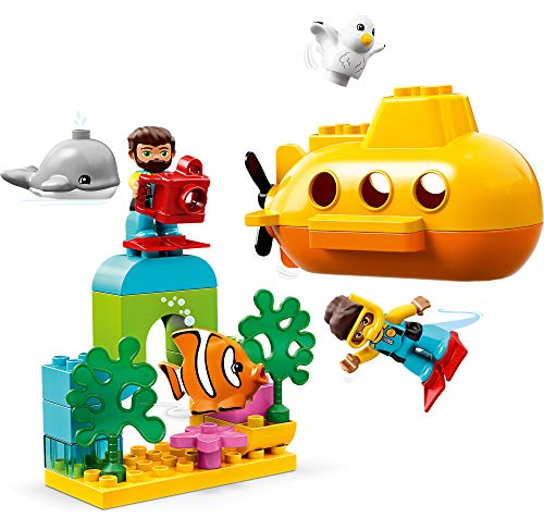 LEGO DUPLO Town Submarine Adventure 10910 Building Kit (24 Pieces)