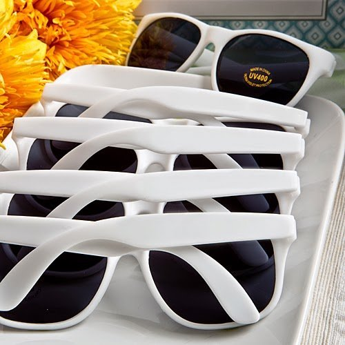 Fashioncraft,Wedding Party Bridal Shower Favors, Trendy Sunglasses, Set of 50 ()